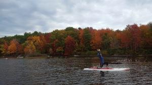 SUP Yoga in Maine
