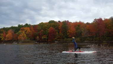 SUP Yoga in Maine